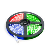 LED Strip 5m 60 LEDs p/m 12V RGB Losse Strip IP20 _