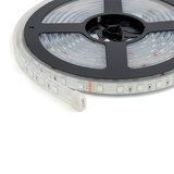 LED Strip 5m 60 LEDs p/m 24V RGB Losse Strip IP68_