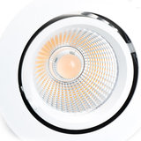 LED Banaanspot 20W 3000K Warm Wit 125mm Kantelbaar_