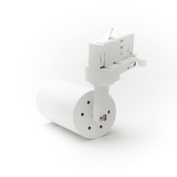 LED Spot Armatuur voor 3-fase Rail Verlichting 4-aderig Wit [Ultra] Model A achterkant