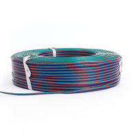 LED Strip Verlengkabel 4-aderig AWG22 RGB 50 meter