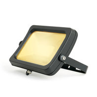 LED Breedstraler 50W 3000K Warm Wit IP65 Zwart