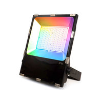 LED Breedstraler 100W RGB+CCT IP65 Zwart