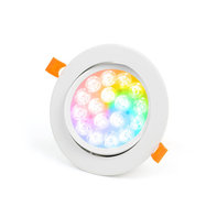 Mi-Light WiFi LED Spot 9W RGB+CCT Kantelbaar