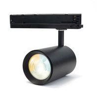 LED Spot voor 3-fase Rail Verlichting 4-aderig Dual Wit 35W Zwart [Ultra]