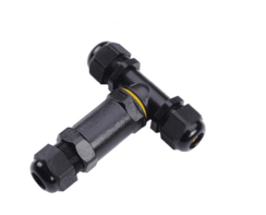 T-splitsing Connector 3-aderig Waterdicht IP67