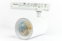 LED Spot voor 3-fase Rail Verlichting 4-aderig Dual Wit 45W Wit