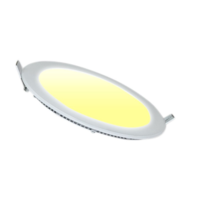 LED Downlight 12W 3000K Ø170mm Dimbaar Rond