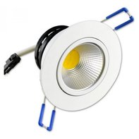 LED Inbouwspot 5W 2700K Warm Wit Ø85mm Kantelbaar