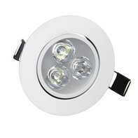 LED Inbouwspot 3W 2700K Warm Wit Ø85mm Kantelbaar