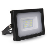LED Breedstraler 10W 6000K Koud Wit IP65 Zwart