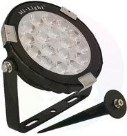 LED Tuinlamp RGB+CCT 9W IP65 Zwart
