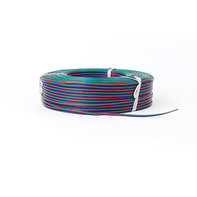 100m LED Strip Verlengkabel 4-aderig RGB