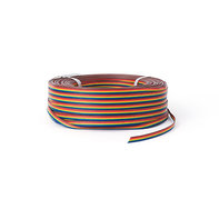 100m LED Strip Verlengkabel 6-aderig RGB+CCT