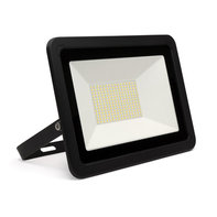 LED Breedstraler 100W 6000K Koud Wit IP65 Zwart
