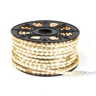 LED Strip 50m 60 LEDs p/m 220V 3000K Warm Wit