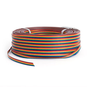 LED Strip Verlengkabel 6-aderig AWG22 RGB+CCT 50m