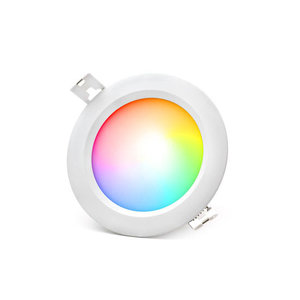 LED Downlight 6W RGB+CCT Ø108mm IP54 Rond