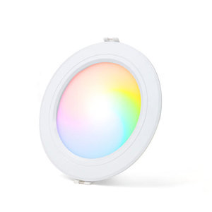 LED Downlight 9W RGB+CCT Ø138mm Rond