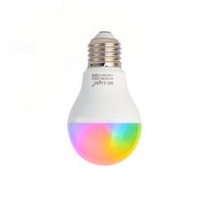 E27 LED Lamp RGB+CCT 6W