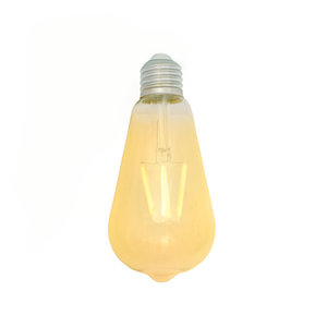 E27 LED Filament Lamp 2200K 4W Dimbaar ST64