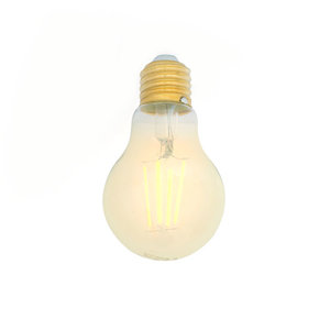 E27 LED Filament Lamp 2700K 5W Dimbaar A60 Clear