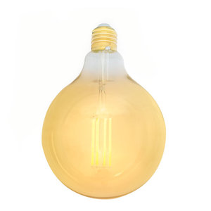 E27 LED Filament Lamp 2200K 6W Dimbaar G125