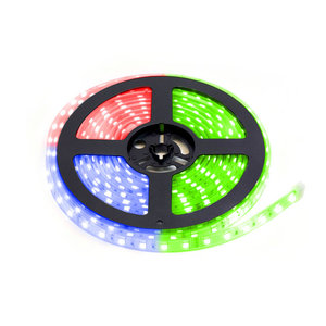 LED Strip 5m 60 LEDs p/m 24V RGB Losse Strip IP68