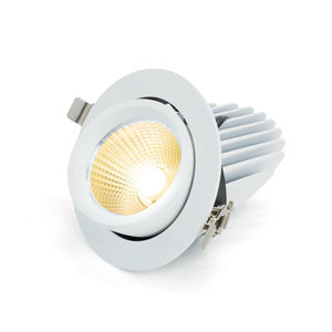 LED Banaanspot 20W 3000K Warm Wit 125mm Kantelbaar