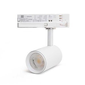 LED Spot voor 3-fase Rail Verlichting 4-aderig Dual Wit 15W Wit [Ultra]