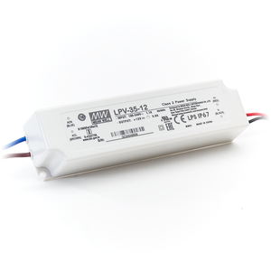 LED Driver Meanwell Voeding 36W 12V 3A