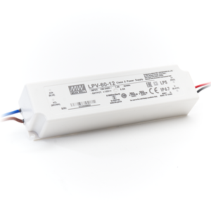 LED Driver Meanwell Voeding 60W 12V 5A