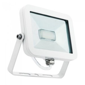 LED Breedstraler 50W 3000K Warm Wit IP65 Wit