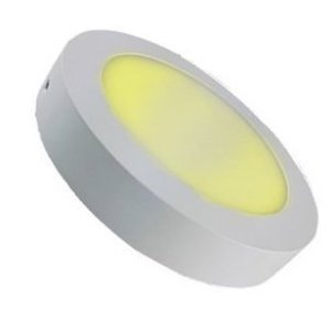 LED Downlight 12W 3000K Ø170mm Dimbaar met Opbouw