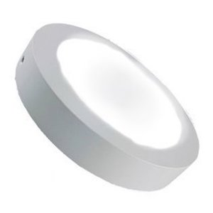 LED Downlight 12W 4000K Ø170mm Dimbaar met Opbouw