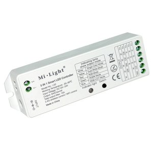 Milight LS2 5-in-1 controller WIT/RGB/RGBW/RGB+CCT Led strip controller 8 zone