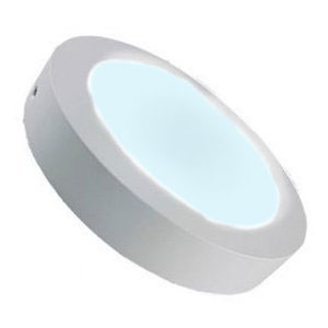 LED Downlight 12W 6000K dimbaar 170mm opbouw rond koud wit (840)